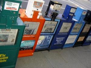 news machines