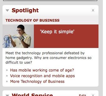 spotlight content - BBC.com