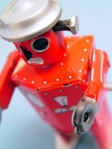 red robot - kids toy