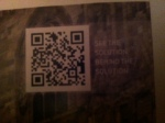 Dow QR Code with call to action