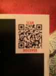 Tissot watches QR code and call to action