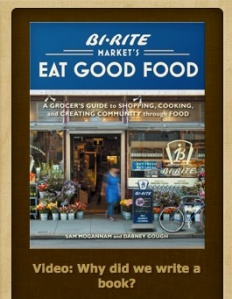 BiRite San Francisco grocery store video promo for its new book