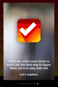 Clear app tour
