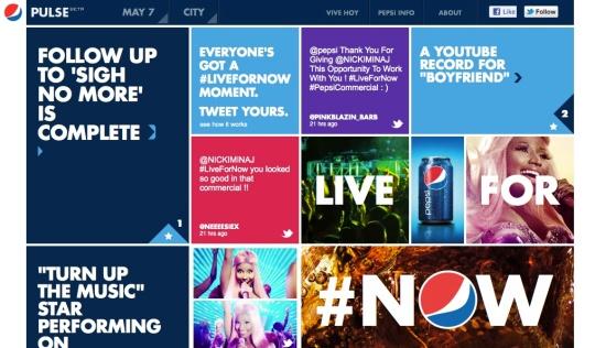 Pepsi Home Page